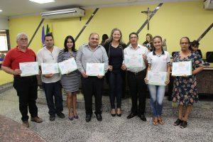 RÁDIO FALANTE- Integrantes do Colégio Orlando Freire são homenageados por vereadora Ada Dantas