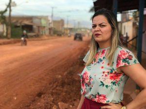 RUA PETROLINA: Obras paradas traduzem a incapacidade do prefeito de administrar,afirma Ada Dantas