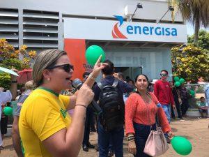 ADA DANTAS MOBILIZA MANIFESTO CONTRA ENERGISA E COBRA BANDEIRA VERDE PARA RONDÔNIA