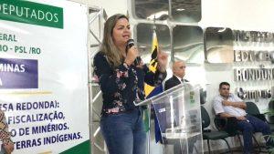 VEREADORA ADA DANTAS REPUDIA DESCASO DE MINISTRO DE MINAS E ENERGIA SOBRE TARIFA DE ENERGIA EM RO