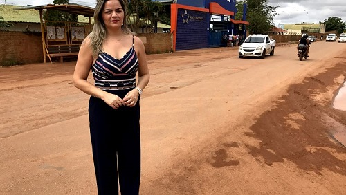 ESCOLA MARCELO CÂNDIA:Vereadora Ada Dantas pede faixa de pedestres elevada à Semtran