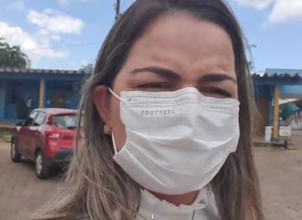 CORONAVÍRUS: Vereadora Ada Dantas fiscaliza atendimento nas unidades de saúde da capital