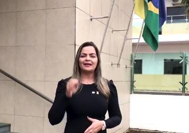 DIA DAS MULHERES: Ada Dantas divulga disk 180, no combate à violência contra a mulher