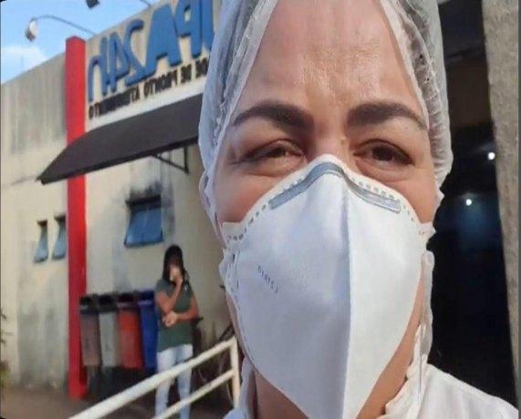 """""""Acabem com as eleições e invistam na saúde"""", afirma vereadora Ada Dantas"""