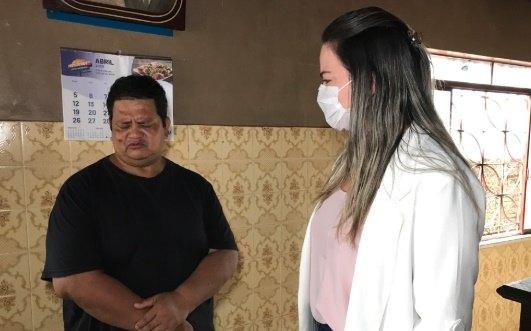 CEMETRON: Ada Dantas acompanha paciente com pneumonia que recebeu alta