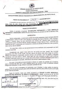 DRENAGEM E ASFALTO – Rua Petrolina, Bairro São Francisco e Bairro Mariana