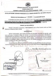 TAPA BURACOS – Rua Coentro, Bairro Cohab